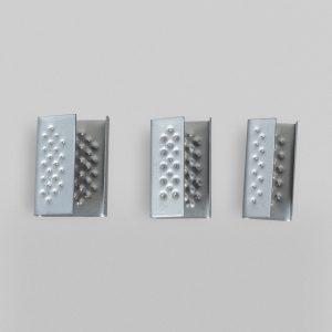 Zapinki metalowe 16mm (2500szt)